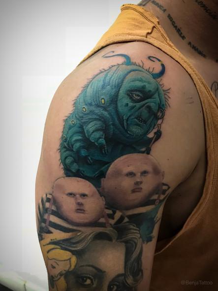 Tatuaje realizado por Benja