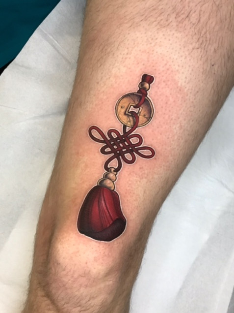 Tatuaje realizado por Alex Sketch