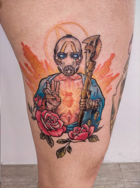 Tatuaje realizado por Laura Garuda en Morning Glory