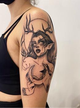Tatuaje realizado por Izzy en Valencia