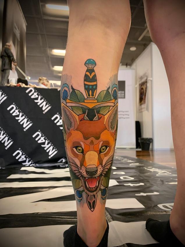 Tatuaje realizado por Cristopher Mendez en Morning Glory Tattoo & Gallery Valencia