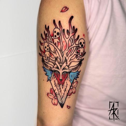Tatuaje realizado por Alexandra R en Morning Glory Tattoo & Gallery Valencia