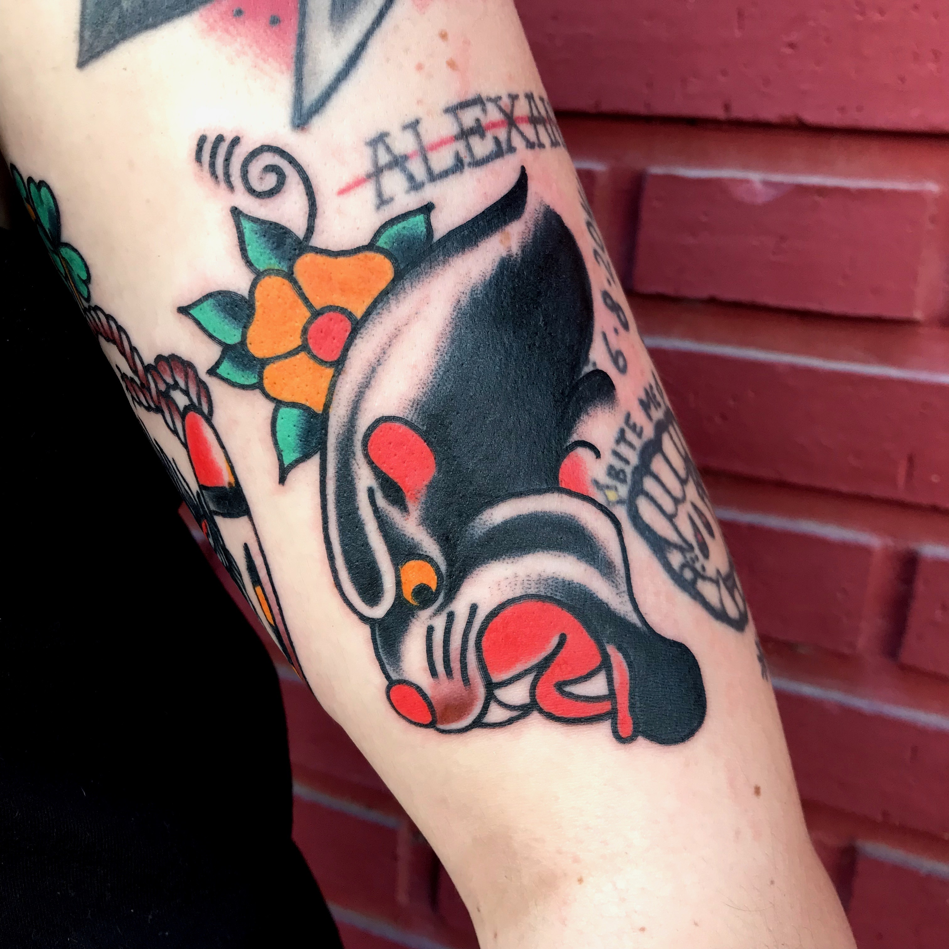 Tatuaje estilo tradicional