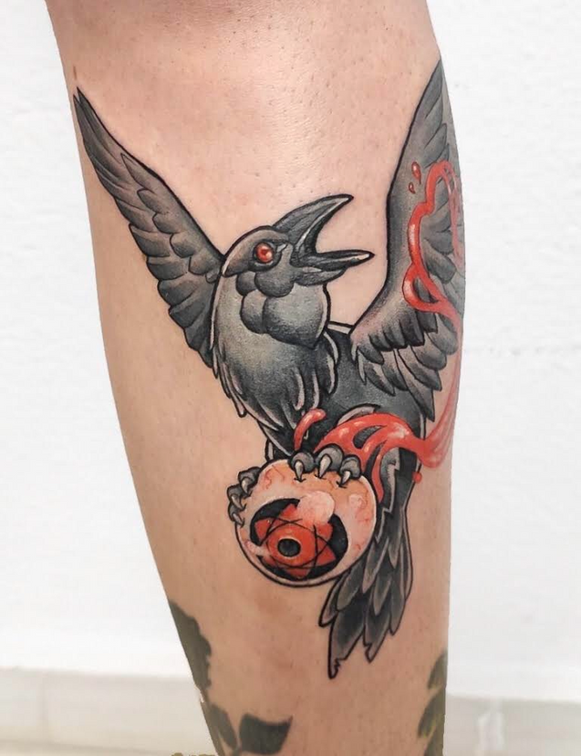 Tatuaje realizado por Laura Garuda en Morning Glory Tattoo & Gallery Valencia