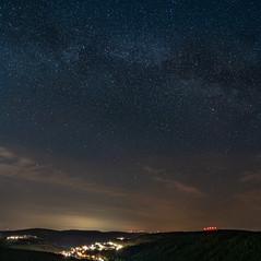Milchstraße über Urphar