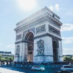 Arc de Triomphe de l'Étoil; Paris
