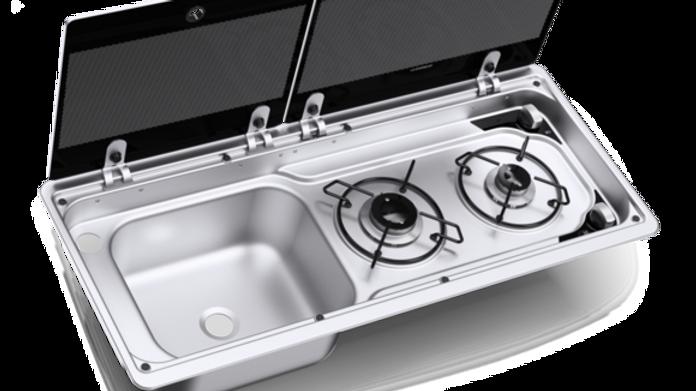 Dometic Combi Hob & Sink MO 9722 LHT