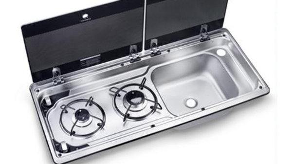 Dometic Combi Hob & Sink 9222 RHT