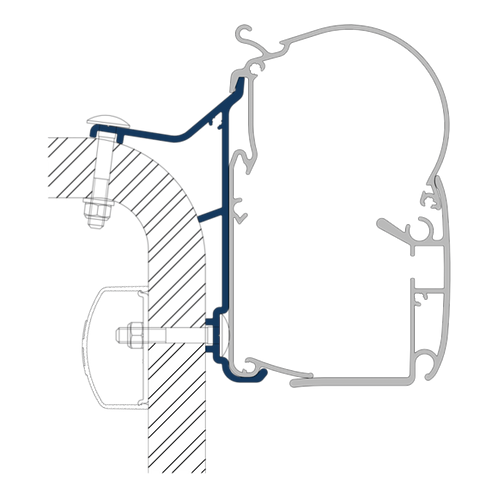 PW Adapter Hymer Van B2
