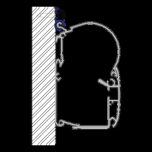 PW-ADAPTER LUXE CARAVAN RAIL 10x6m