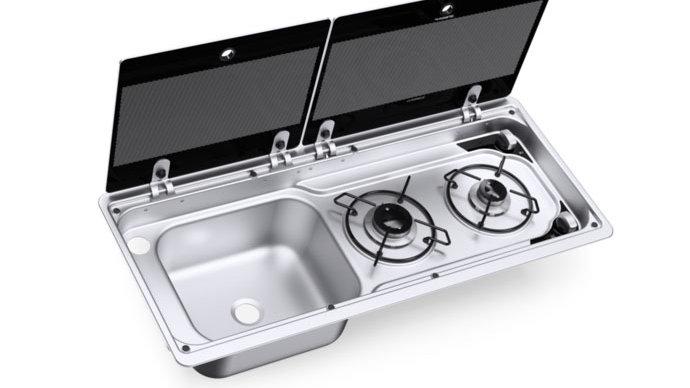 Dometic Combi Hob & Sink 9222 LHT