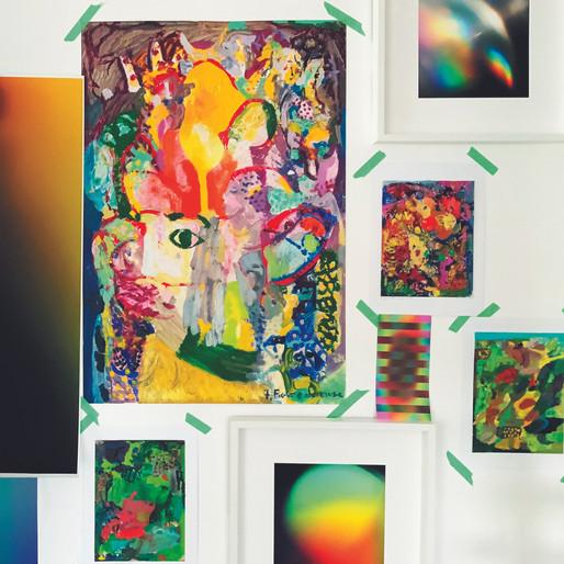 Couleur, spiritualité et art contemporain : rencontre avec Fabienne Veverka et Marie-Claire Pinardel