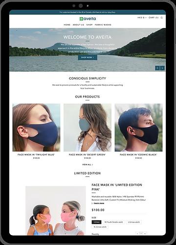 Aveita Website Tablet.png