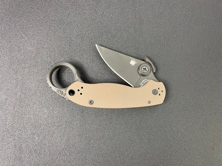 DSR PM3 for Spyderco Paramilitary 3 TM (Knife and THORN Not Included)