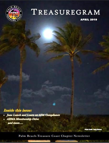 April 2019 Treasure Gram