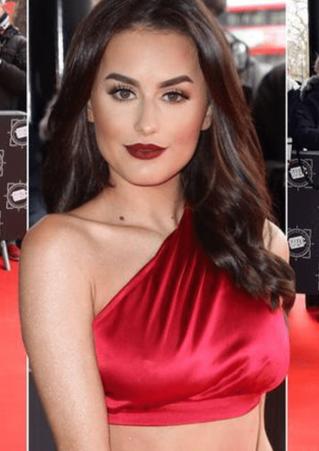 Amber Davies Red Carpet Make Up By Selin