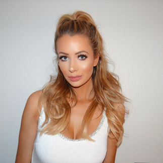 Olivia Attwood Makeup by Selina Bassi