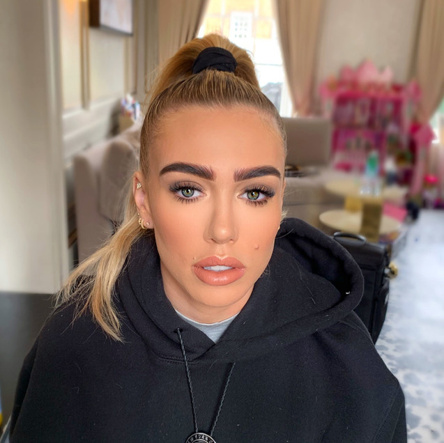 Makeup by Selina Bassi on Petra Ecclestone