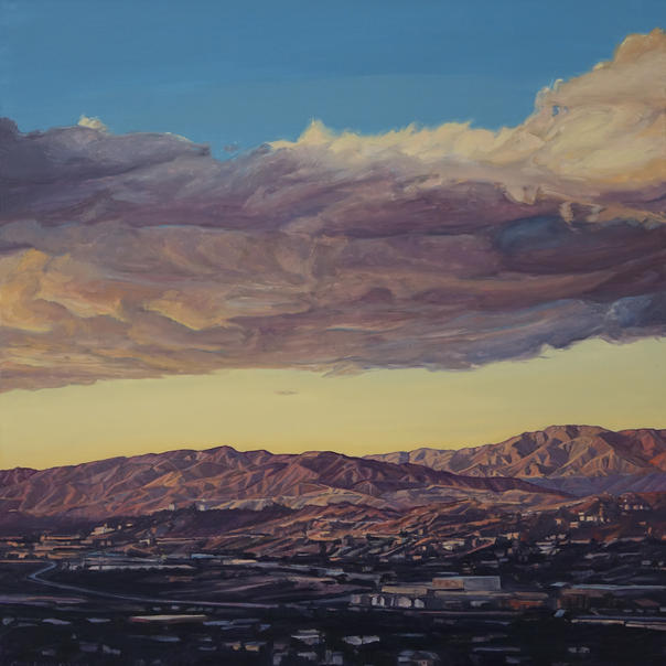 Verdugo & San Gabriel Mountains at Sunset