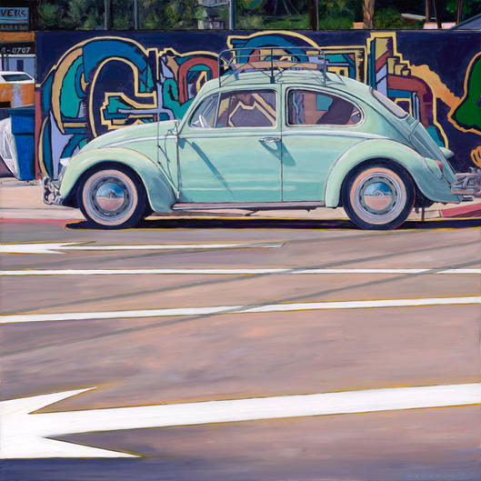Silver Lake VW Bug
