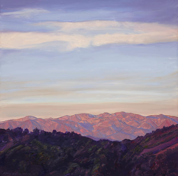San Gabriel Mountains Pink