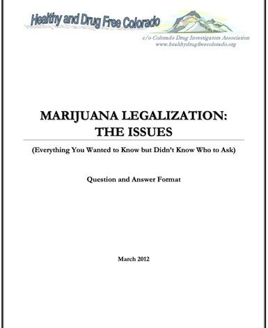 Marijuana Legalization: The Issues