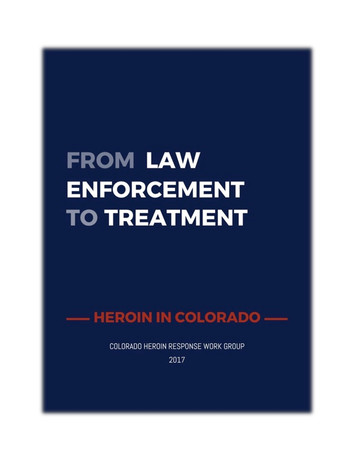 From Law Enforcement to Treatment