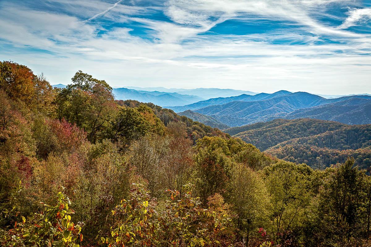 Cherokee Mtn Range 16 x 24 canvas-2small