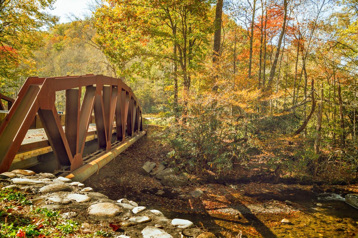 Cherokee Bridge 16 x 24 Canvas
