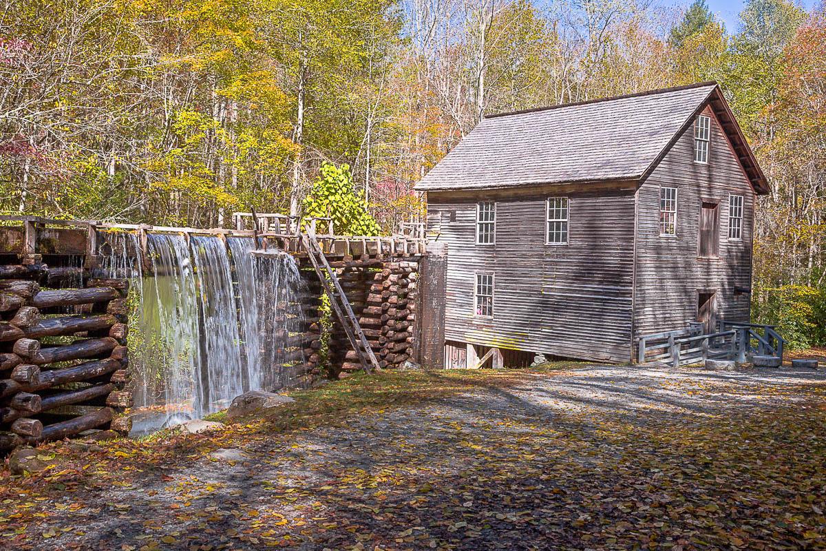 Cherokee Mill 16 x 24 canvas-2small