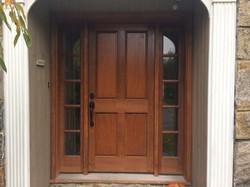 Wood Door Before & After