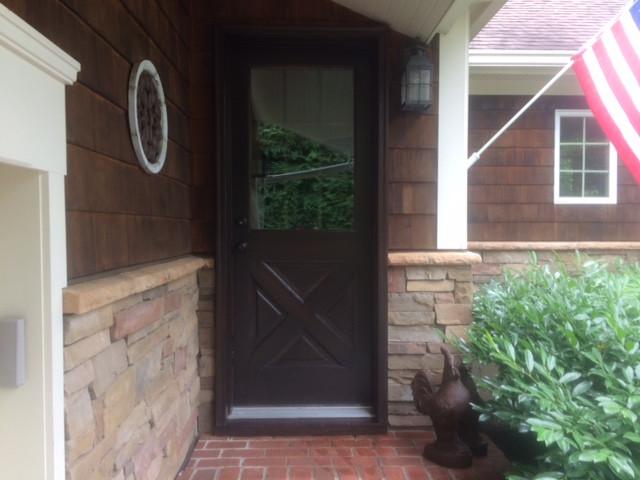 Finished door