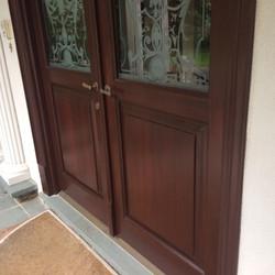 Refinished Doors