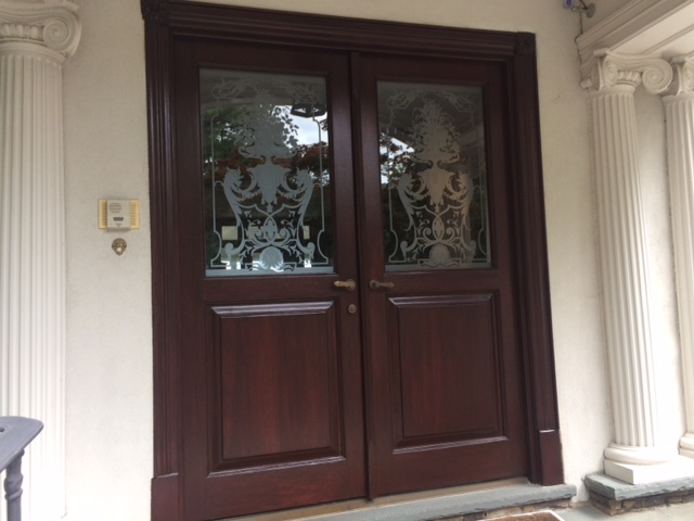 Refinished Doors