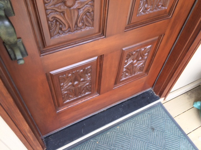 Fully refinished door
