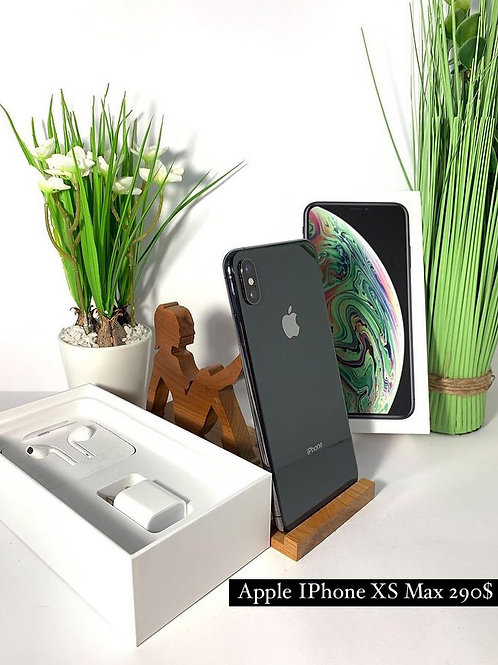 Apple iPhone XS Max 64GB Black Neverlock.