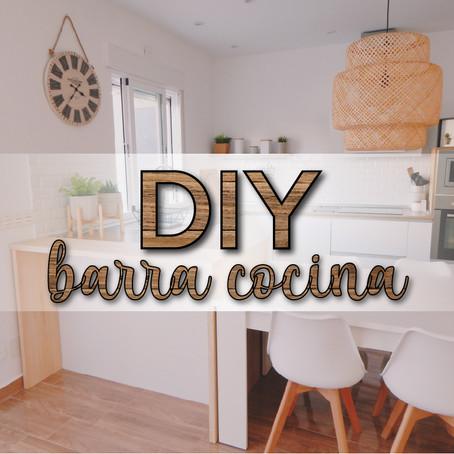 DIY barra cocina