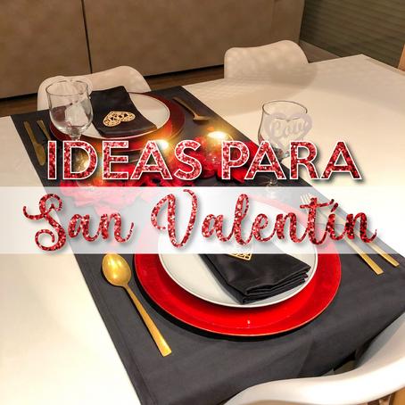 Ideas para San Valentín ♥️