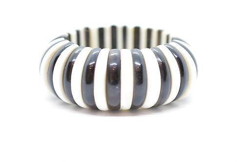 Natural Horn & Bone Hand Carved Women's Bracelet