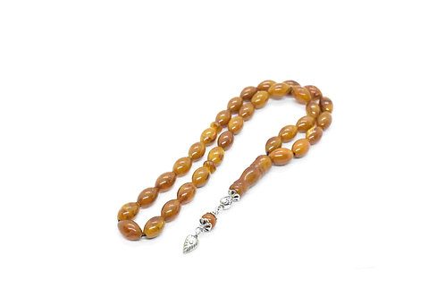 Muslim, Ottoman, Amber Prayer beads