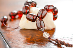 Baltic Amber Handmade Komboloi