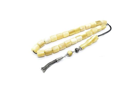 Handmade Horn Komboloi (Worry Beads)