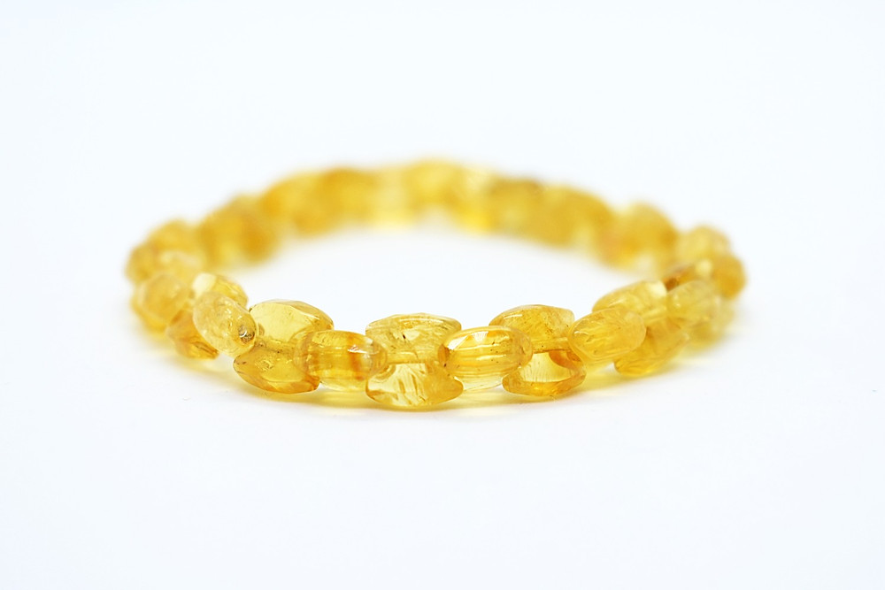 Faceted cut Citrine Bracelet