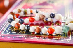 Multicolor Natural Gems Necklace