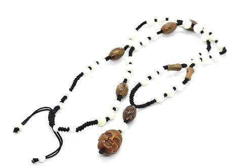 Chinese Buddha Rosary Necklace