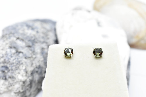 Zultanite Gemstone M/size Stud Earrings, Hand-set on 925 Sterling Silver