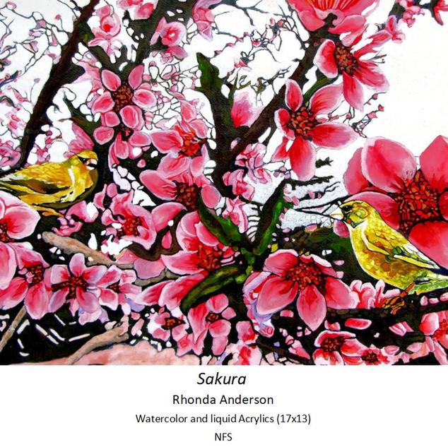 Sakura - Rhonda Anderson