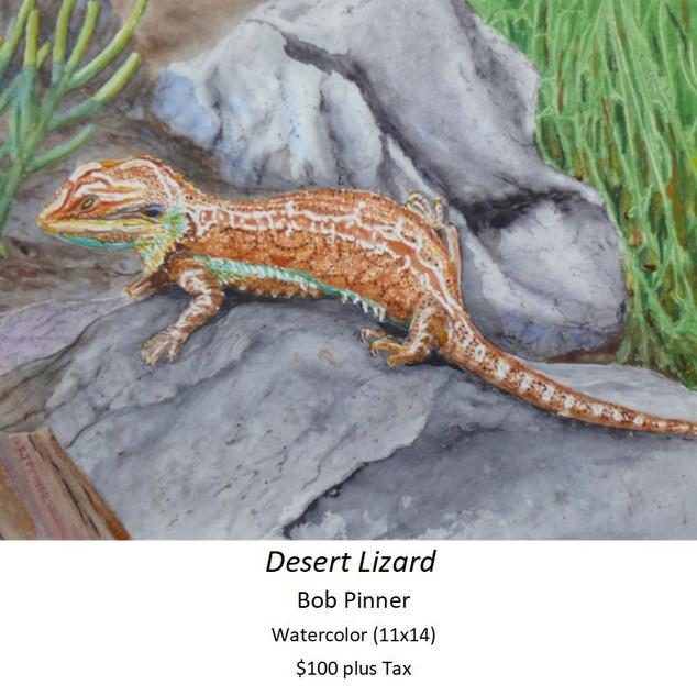Desert Lizard - Bob Pinner
