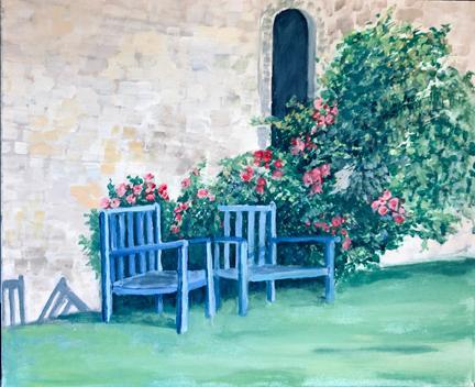 Blue Chairs - Owen