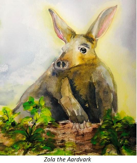 Zola the Aardvark - Peggy Caballero